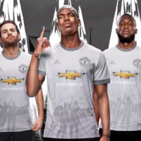 Man United launch new fan-designed grey third kit for 2017/18 season