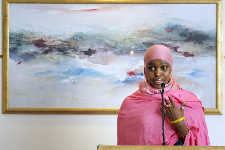 Anti-FGM campaigner Ifrah Ahmed speaking at a seminar in Dublin last year