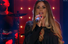 Katie Price performed a song on Saturday Night with Miriam, and it was cringey as you'd expect