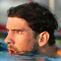 Michael Phelps loses to great white shark in virtual race