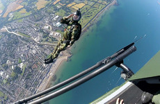 Over 90,000 people soaked up the sun at the Bray Air Show yesterday
