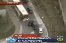 Escaped prisoner sparks incredible police chase (Video)