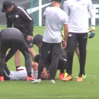 RB Leipzig midfielder escapes serious injury after training ground bust-up with Liverpool target Keita