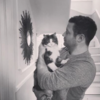 Dermot O'Leary shared a moving tribute to his cat Silver on Instagram after it passed away