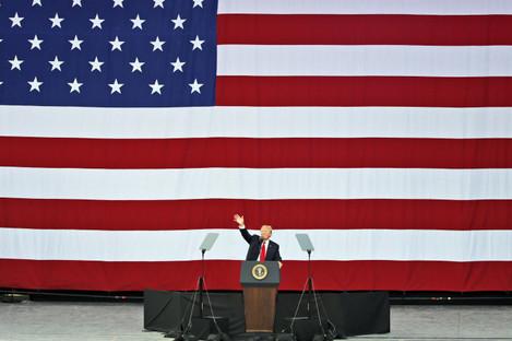 Trump addresses Boy Scouts.