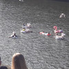 Floating down the Liffey on an inflatable is all fun and games... but it's not safe