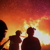 'It's a disaster area. There's nothing left': Wildfires rage over south-east of France