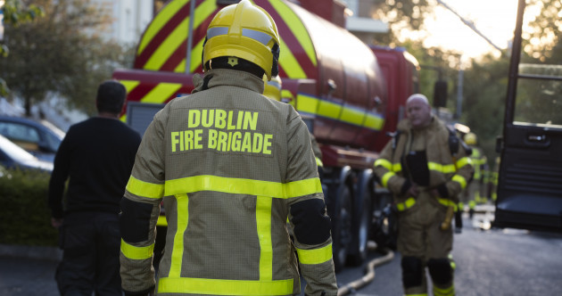 Dublin Fire Brigade is operating at reduced capacity due to unofficial overtime strikes over pay