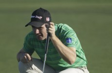 Johnson in 3-way tie at top, as Harrington starts slowly at Pebble Beach