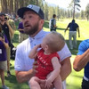 Justin Timberlake recreated *that* Lion King moment when someone handed him their baby