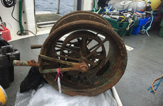 Main Lusitania telegraph finally recovered from Cork seabed