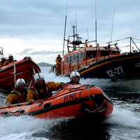 RNLI save eight people who got stuck on boat coming back from island daytrip