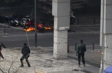 Greece: Clashes in Athens, ministers resign
