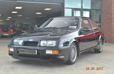 This Ford Sierra Cosworth is a roaring icon of 1980s motoring