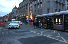 Man injured after being struck by Luas