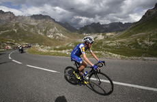 Dan Martin reveals that he rode most of the Tour de France with a fractured back