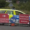 Man killed in morning crash between van and motorbike