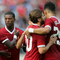 Solanke and Salah on target as Coutinho captains Liverpool to victory in Germany