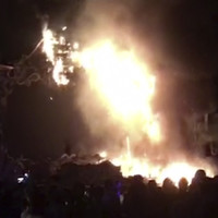 More than 22,000 evacuated after fire erupts at main stage of Spanish music festival