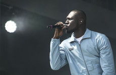 Stormzy shared his frustration about not being able to order off of kids menus in restaurants