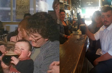 Pint Baby returned to the Clare pub where he had that famous Guinness 20 years ago