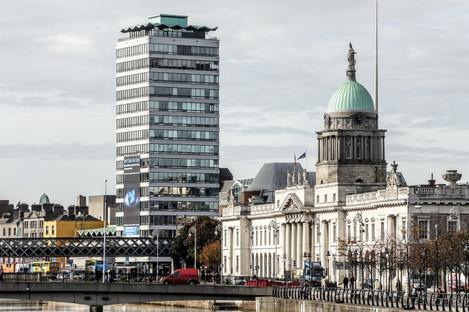 Liberty Hall in Dublin city centre, one of Dublin's tallest buildings