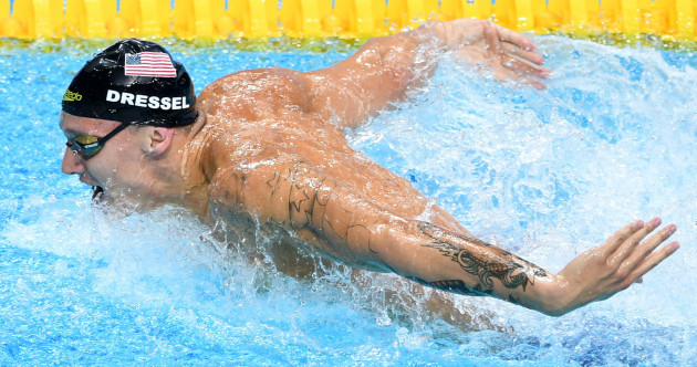 Swimming has a new superstar - and his name is Caeleb Dressel