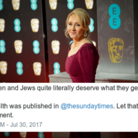 Even J.K Rowling is fuming over Kevin Myer's offensive Sunday Times column