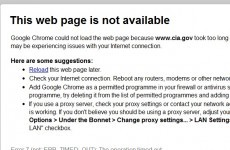 Anonymous says it has taken down the website of the C.I.A.