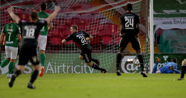 Poynton penalty gives Cork City a first league loss 23 games into the season
