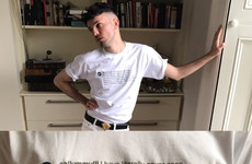 James Kavanagh took a negative Instagram comment about his style and made it into a t-shirt
