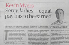 'I must answer for what I've done': Kevin Myers breaks silence and issues apology over offensive column
