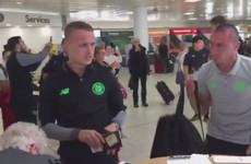 'Your club's dead, mate': Celtic's Leigh Griffiths responds to airport abuse from Rangers fan
