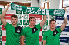 Trevor Clarke's brother one of two more signings announced by Shamrock Rovers