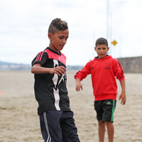 Young footballers from Gaza arrive in Cork for Mardyke Arena game