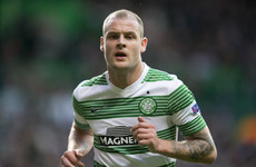 Ireland striker Anthony Stokes has linked back up with Neil Lennon at Hibernian