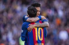 'It was an enormous pleasure': Leo Messi bids heartfelt farewell to Neymar