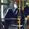 Burqas or bus seats? Anti-immigrant group ridiculed for mistaking bus seats for Muslim women