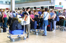 Tightened security leading to long airport queues for Irish passengers