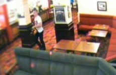Video: Chainsaw-wielding man attacks pub