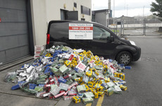 Revenue seizes 230,000 cigarettes and 160 kilos of tobacco in Dublin