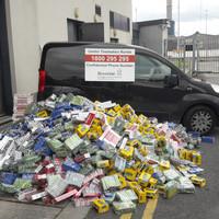 Revenue seizes 230,000 cigarettes and 160 kilos of tobacco in Dublin