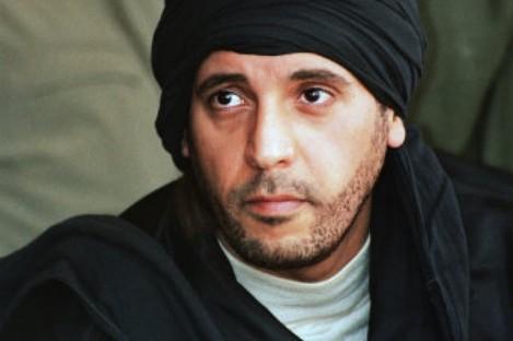 Undated photo released in September 2011 of Al-Saadi Gaddafi.