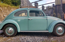 This classic Volkswagen Beetle was made right here in Ireland