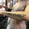 An Irish girl in Australia got a brilliant Gaeilge tattoo on her arm because she kept getting asked to speak Irish