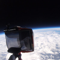 This Irish space balloon mission captured stunning photos of the earth this week