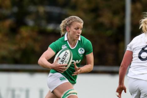 Ireland flanker Claire Molloy