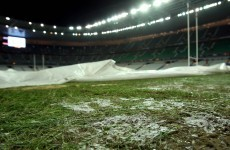 Frozen pitch forces France v Ireland to be postponed