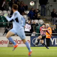 Barry McNamee's long-distance lob ensures smash and grab Derry win in Tallaght