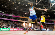 Mo Farah's double hopes endangered after battering